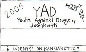 2005 YAD jasenkortti