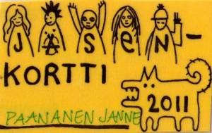 2011 YAD jasenkortti