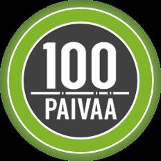 100 paivaa