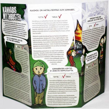 Kannabis Mythbuster -esite
