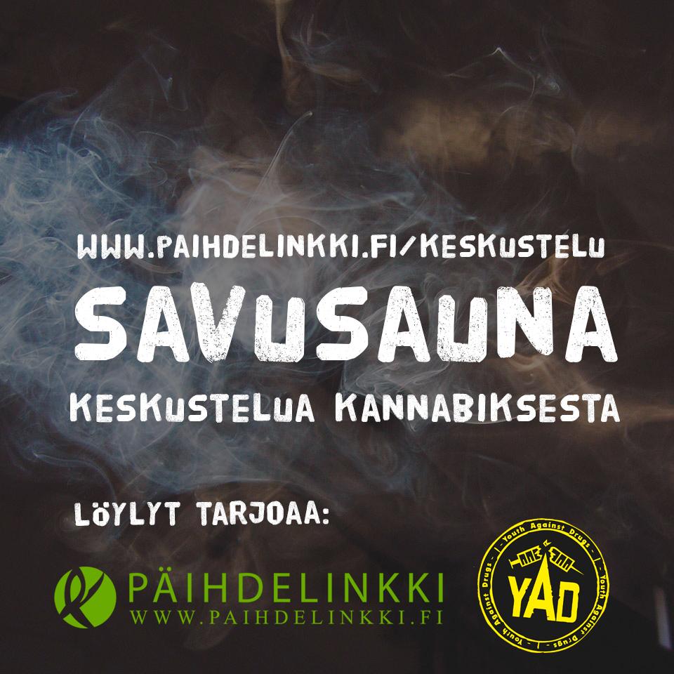 Savusauna-mainos