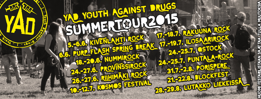 YAD summertour 2015