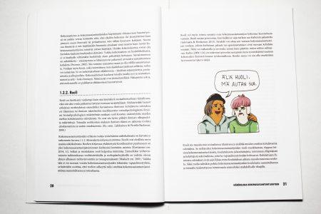 Kuva kirjan aukeamasta