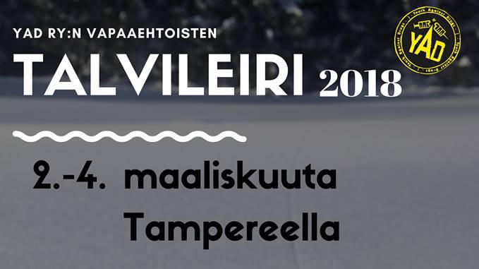 Talvileiri 2018 mainos