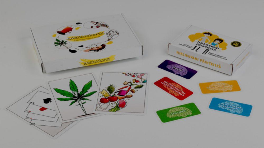 Addiktio- ja mielikuvani päihteistä kortit
